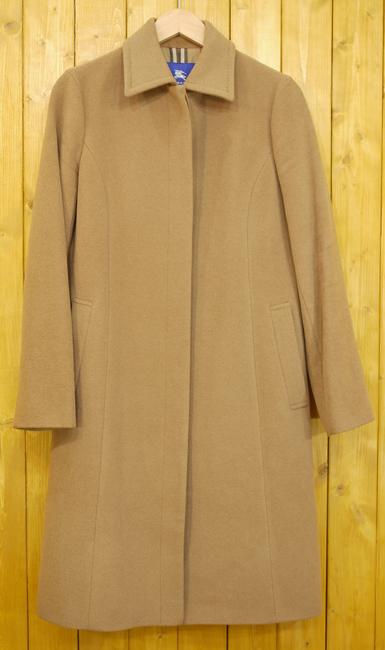 【中古】BURBERRY BLUE LABEL/バーバリーブルーレーベル コート サイズ:38 カラー:ブラウン