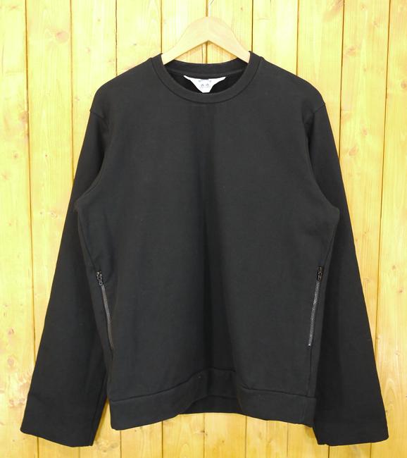 【中古】SUNSEA/サンシー 15SS LEE's Sweatshirt/スウェット SNS-15S37 サイズ:3 カラー:ブラック