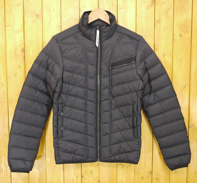 【中古】G-STAR RAW/ジースター・ロゥ Attacc Down Jacket ダウンジャケット サイズ:XS カラー:ブラック