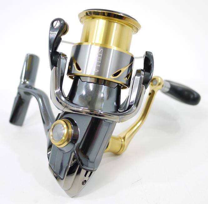 【中古】【フィッシング/釣り/釣具】 【スピニングリール】【左ハンドル/レフトハンドル】SHIMANO/シマノ 14 ステラ 3000HGM