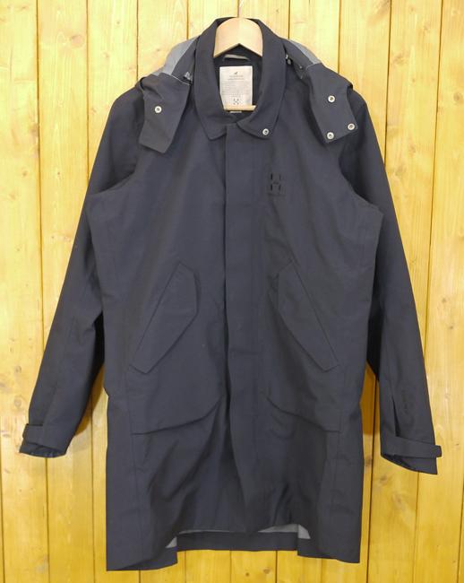 【中古】HAGLOFS/ホグロフス ORNAS PARKA MEN GORE-TEX/ゴアテックス シェルジャケット 603012 サイズ:S カラー:ブラック