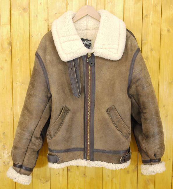 【中古】AVIREX/アヴィレックス B-3 フライトジャケット/レザージャケット サイズ:36 カラー:ブラウン
