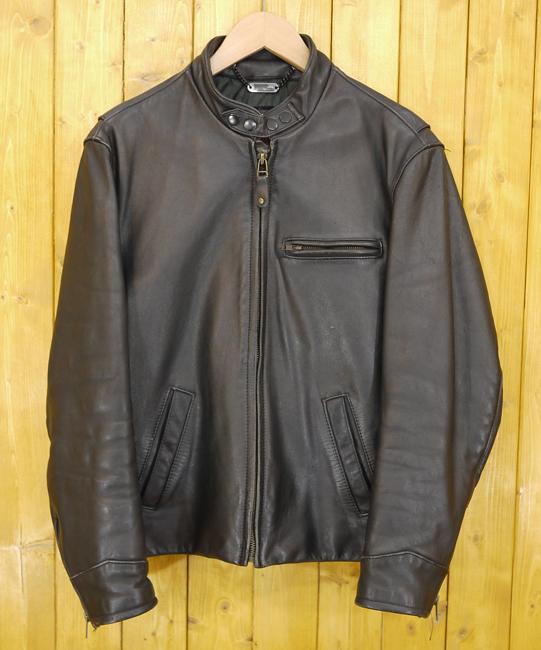 【中古】HARLEY-DAVIDSON/ハーレーダビッドソン レザージャケット 革ジャン サイズ:40 カラー:ブラック