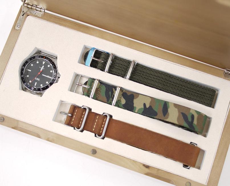 【中古 OCEAN】END.×TIMEX/エンド×タイメックス 腕時計 NAVI - OCEAN WATCH 腕時計 - ブラック×ブラウンなど クォーツ その他ベルト, 中古スロット実機販売leslo:4eb480ba --- jphupkens.be