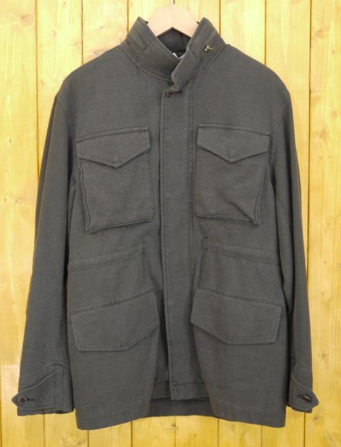 【期間限定】ポイント20倍【中古】Ron Herman/ロンハーマン USED加工ジャケット M-65 サイズ:M カラー:ブラック系