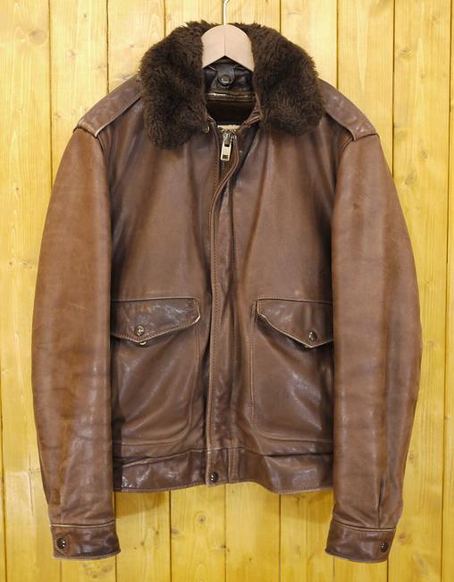 【中古】SCHOTT/ショット レザージャケット 革ジャン サイズ:40 カラー:ブラウン