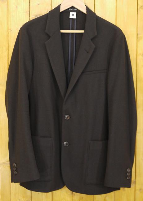 【中古】ADAM KIMMEL/アダムキメル ウールジャケット サイズ:XS カラー:ブラウン