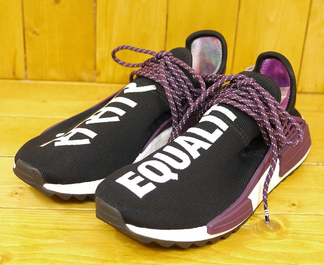 【中古】adidas×Pharrell Williams/アディダス×ファレル・ウィリアムス AC7033/PW HU HOLI NMD MC/スニーカー サイズ:27.5cm カラー:ブラック