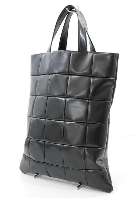 【中古】BLACK COMME des GARCONS/ブラックコムデギャルソン QUILTING TOTE BAG/キルティングトートバッグ カラー:ブラック【f121】