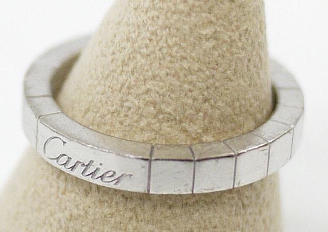 【中古】Cartier/カルティエ ラニエール K18WGリング【f135】