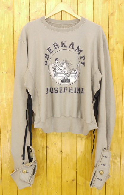 【中古】Maison Margiela/メゾン マルジェラ Oberkampf Josephinスウェットシャツ サイズ:38 カラー:トープ【f112】