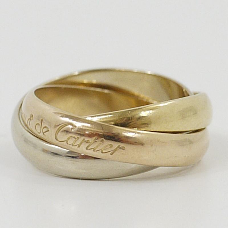 【中古】Cartier/カルティエ トリニティリング/指輪【f135】