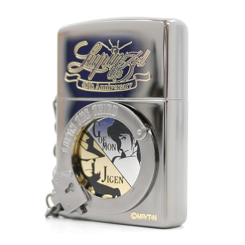 【中古】ZIPPO/ジッポー ルパン三世 40th Anniversary Ver. Arrest Lupin The III 次元&五ェ門 オイルライター【f134】