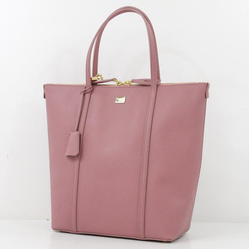 【中古】Dolce&Gabbana/ドルチェ&ガッバーナ トートバッグ カラー:ピンク【f121】