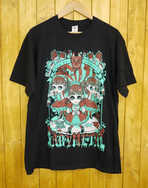 【中古】BABYMETAL/ベイビーメタル GIMMIE CHOCOLATE!! TEE ギミチョコTシャツ【タレントグッズ】