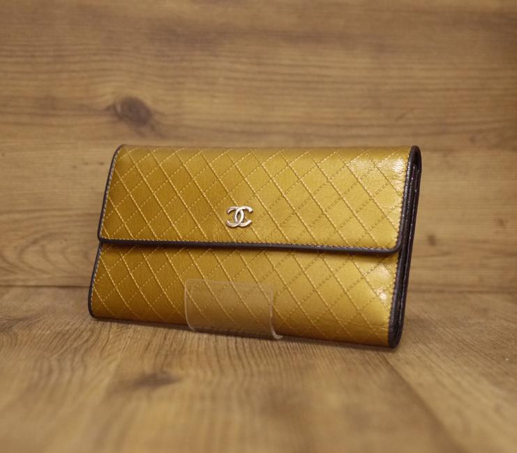 【中古】CHANEL/シャネル A33908 ビコローレ 三つ折り長財布