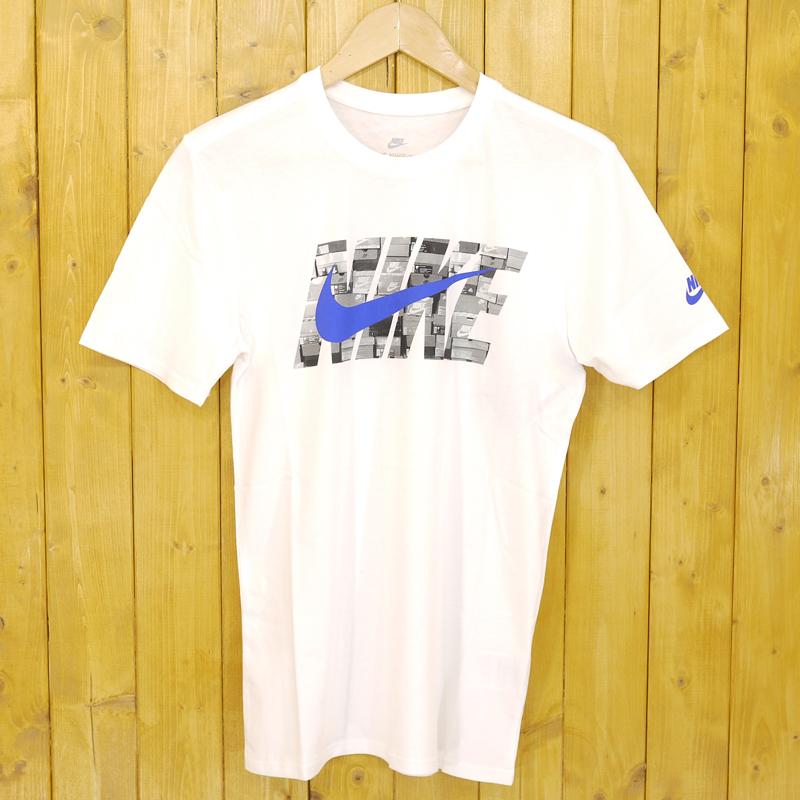 【中古】NIKE×atmos/ナイキ×アトモス NIKE AS M NSW AIRMAX TEE  半袖Tシャツ 【AT6828-100】 サイズ:S カラー:ホワイト【f103】
