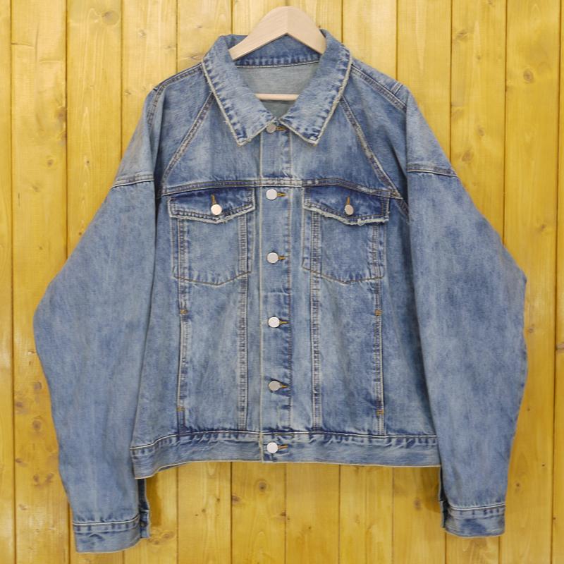 【中古】MNML/ミニマル デニムジャケット サイズ:XL カラー:ブルー【f095】