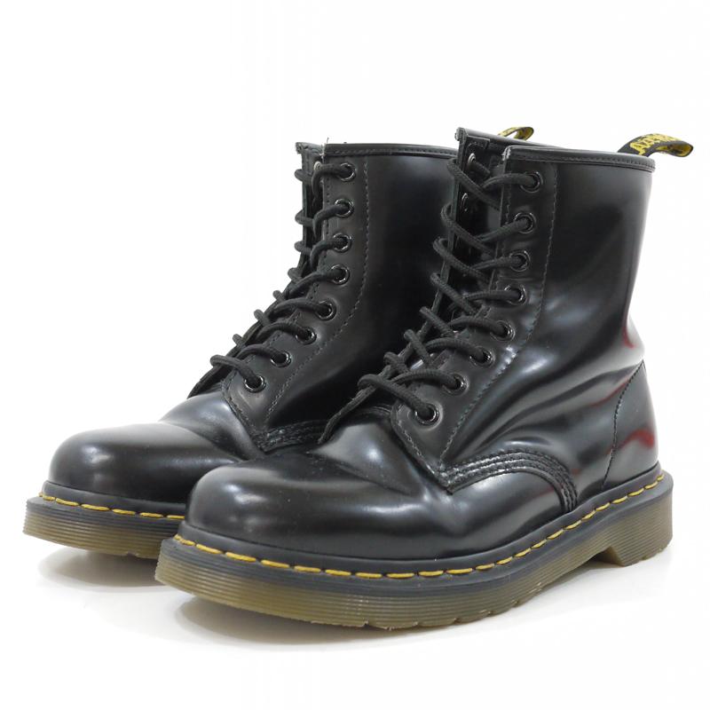 【中古】Dr.Martens/ドクターマーチン 8EYE BOOT 8ホールブーツ 10072 サイズ:UK 5 カラー:ブラック【f128】