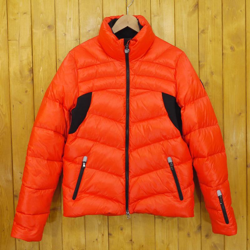 【中古】EMPORIO ARMANI/エンポリオ アルマーニ EA7 ダウンジャケット/パファージャケット サイズ:S カラー:オレンジ【f094】
