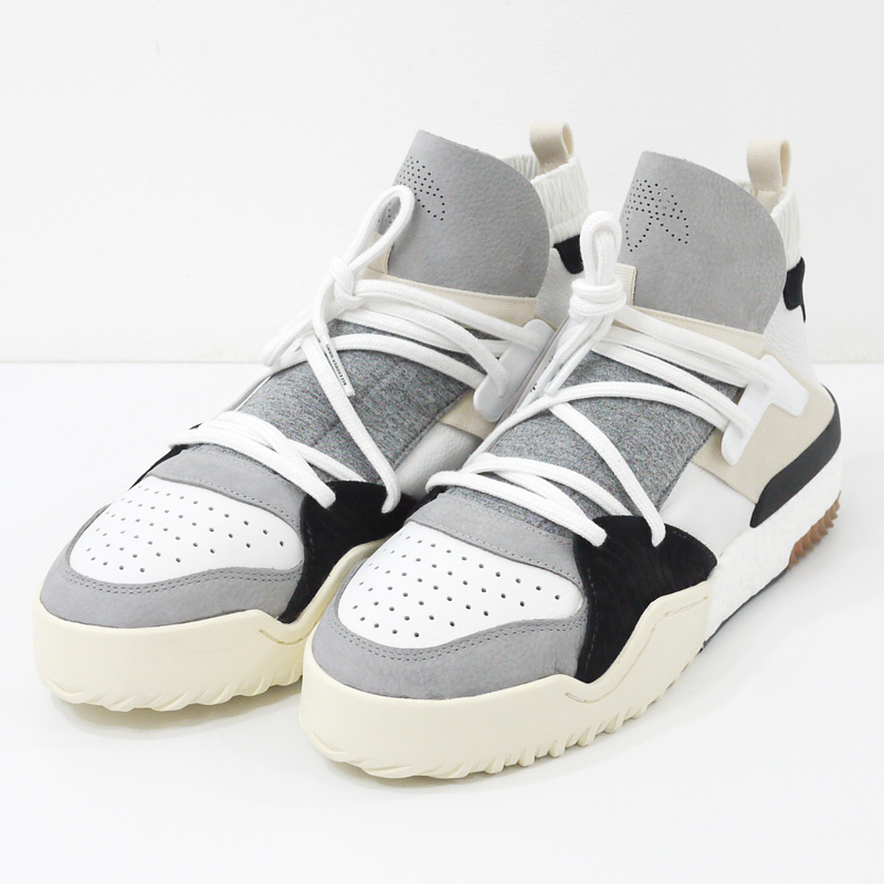 【中古】adidas ×ALEXANDER WANG/アディダス×アレキサンダーワン AW BBALL /スニーカー CM7824 サイズ:28.0cm カラー:ホワイトなど【f126】