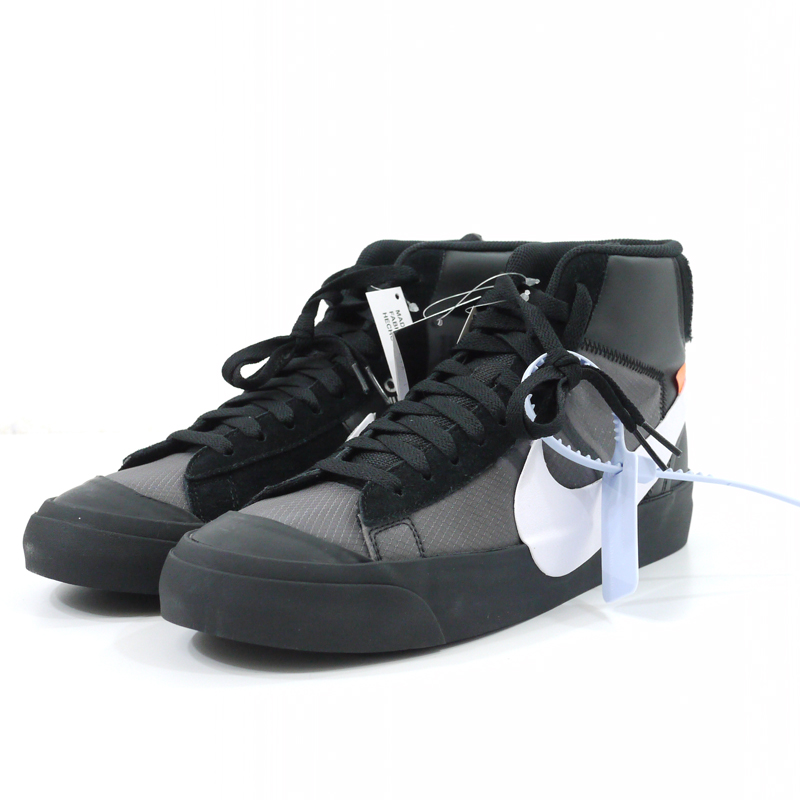 【中古】OFF-WHITE×NIKE/オフホワイト×ナイキ THE 10 NIKE BLAZER MID