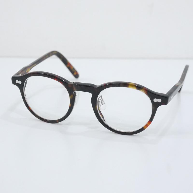 【中古】MILTZEN/ミルゼン Col.TORTOISE 度入りメガネ 眼鏡 べっ甲 サイズ:- カラー:ブラウンなど【f134】