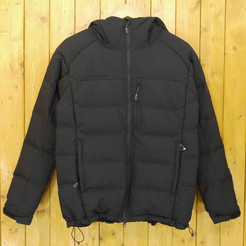 【中古】MAMMUT/マムート SERAC IN Hooded Jacket セラックINフーデットジャケット ダウンジャケット サイズ:S カラー:ブラック【f092】