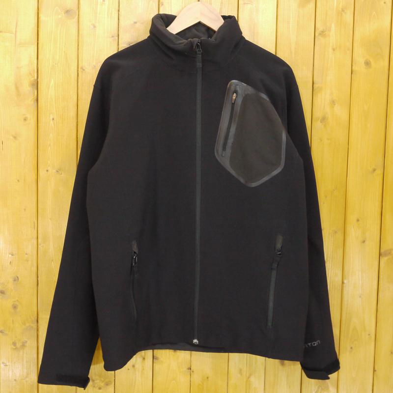 【中古】BURTON/バートン スノーボードジャケット サイズ:L カラー:ブラック【f092】