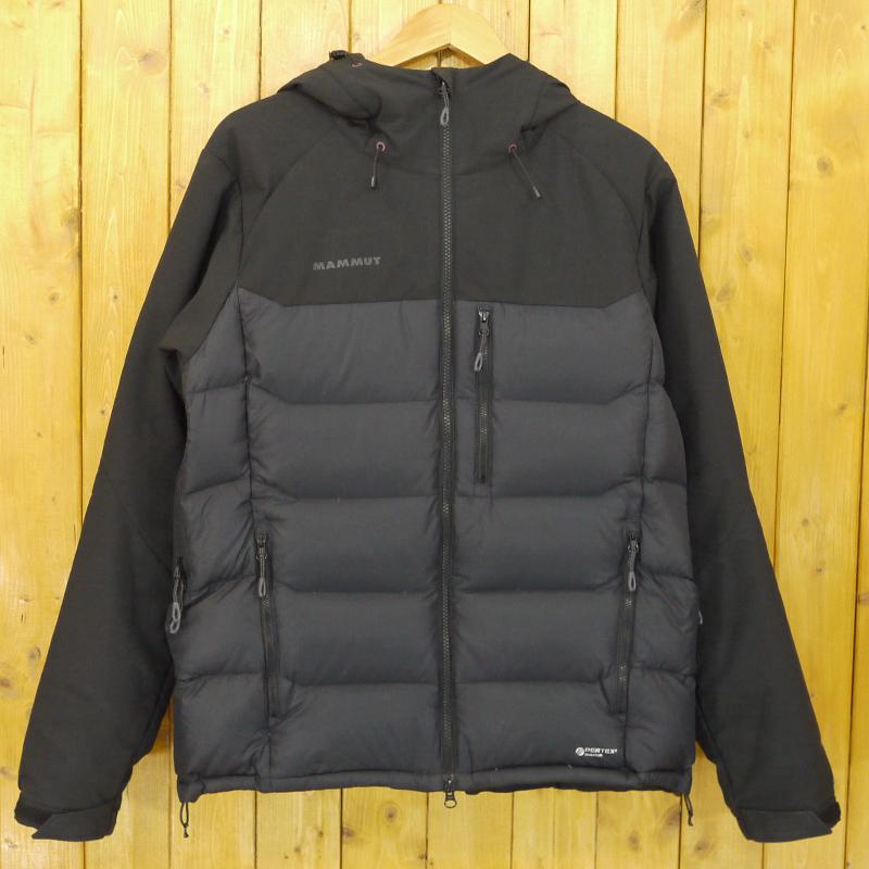 【中古】MAMMUT/マムート Rime Pro IN Hybrid Hooded Jacket インサレーションジャケット ダウン サイズ:XL カラー:ブラック【f092】