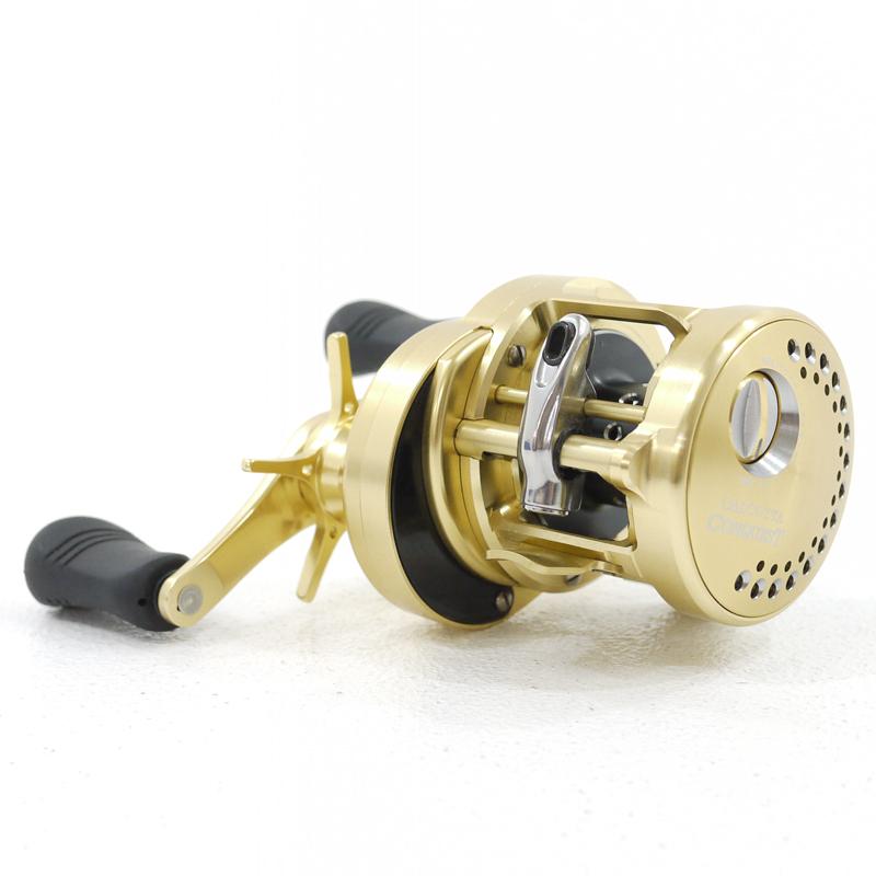 【中古】【フィッシング/釣り/釣具】 【ベイトリール】【右ハンドル/ライトハンドル】SHIMANO/シマノ 14 カルカッタコンクエスト 200