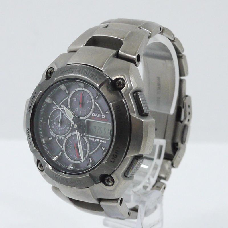 【中古】CASIO/カシオ 腕時計 G-SHOCK/Gショック MRG-7000DJ ソーラー サイズ:- カラー:シルバー【f131】