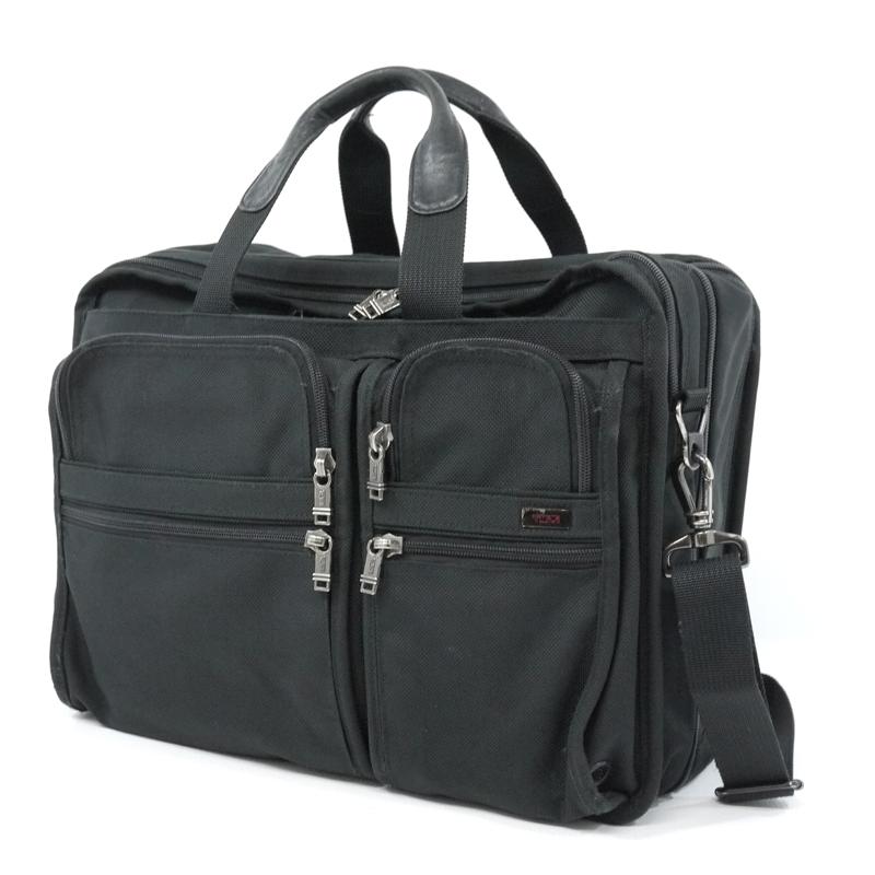 【中古】TUMI/トゥミ ブリーフバッグ ビジネスバッグ サイズ:- カラー:ブラック【f121】