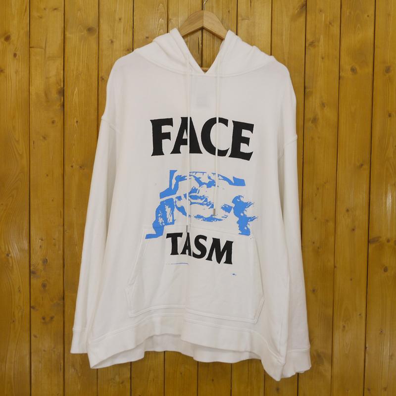 【中古】FACETASM/ファセッタズム オーバーサイズ プルオーバーパーカー サイズ:00 カラー:ホワイト【f104】