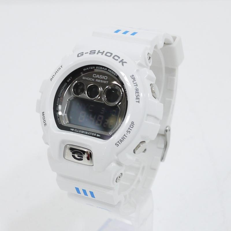 【中古】CASIO/カシオ G-SHOCK/Gショック キャプテン翼×カレーハウスCoCo壱番 腕時計 GD-X6900FB-7JF クォーツ サイズ:- カラー:ホワイト【f131】