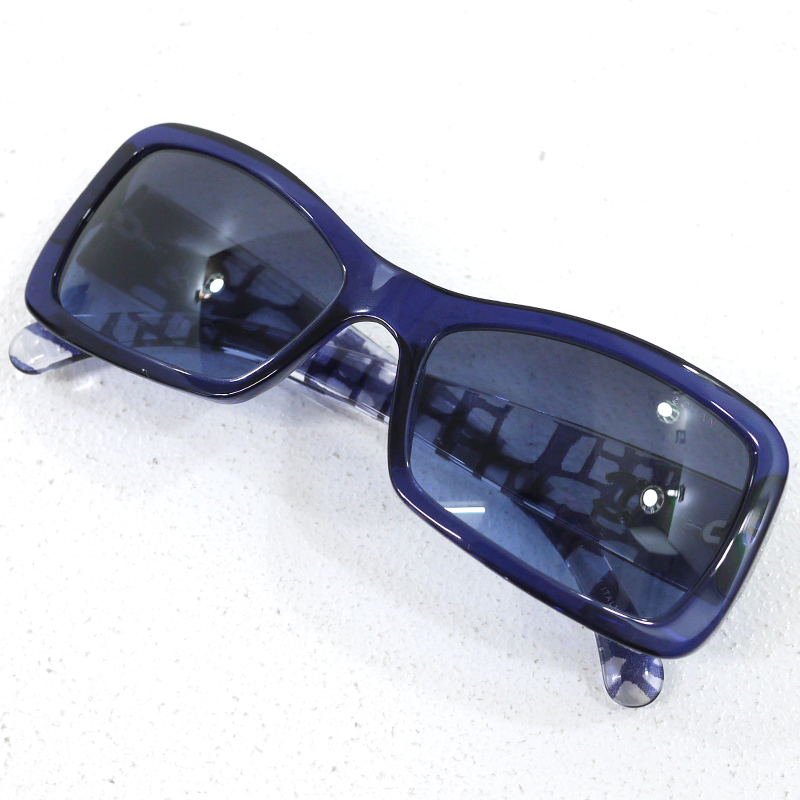 【中古】CHANEL/シャネル ココマーク サングラス サイズ:- カラー:ブルー【f135】