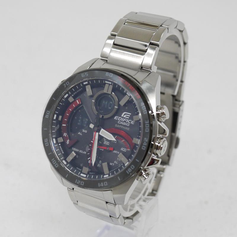 【中古】CASIO/カシオ 腕時計 EDIFICE/エディフィス ECB-900YDB-1AJF Bluetooth搭載 ソーラー サイズ:- カラー:シルバー【f131】