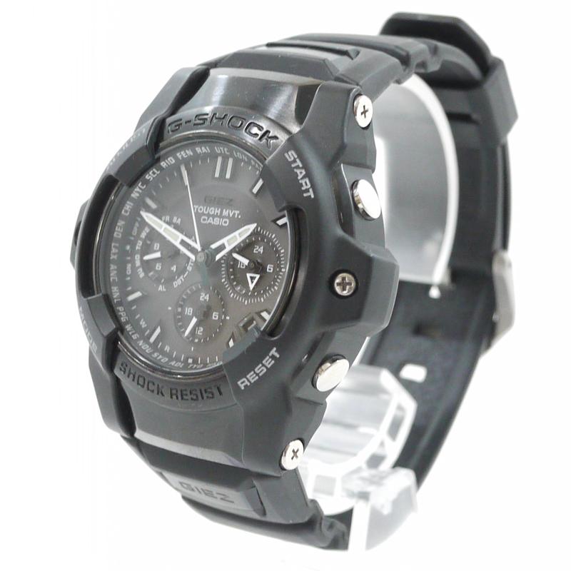 【中古】CASIO/カシオ 腕時計 G-SHOCK/Gショック GIEZ GS-1400B カラー:ブラック【f131】