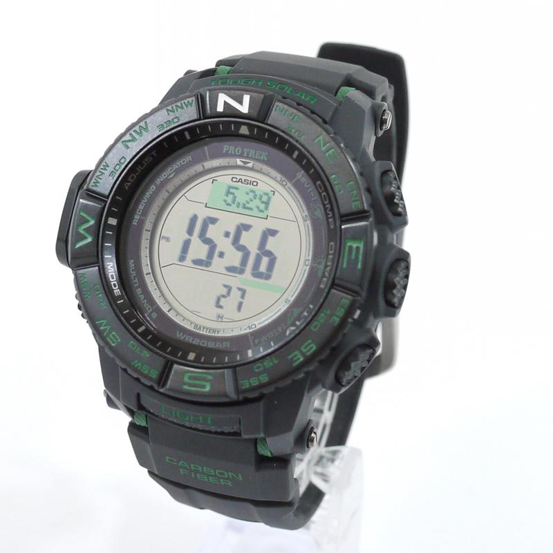 【中古】CASIO/カシオ 腕時計 PRO TREK/プロトレック PRW-S3500-1DR サイズ:- カラー:ブラック【f131】