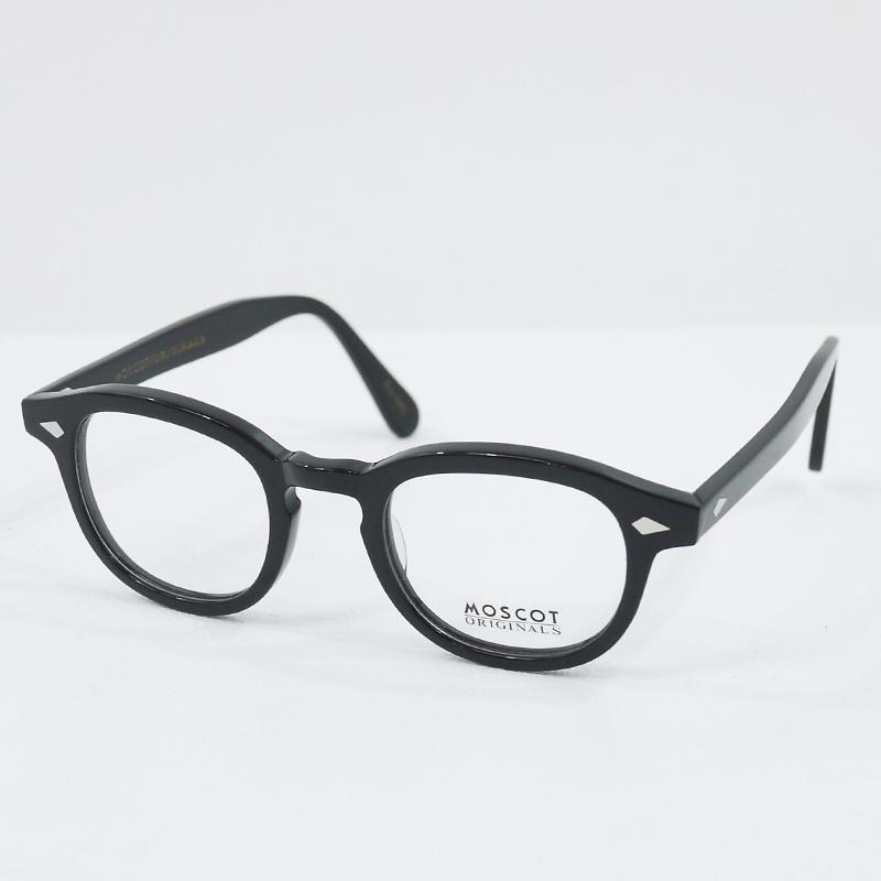 【中古】MOSCOT/モスコット EST1915 伊達メガネ 眼鏡 サイズ:- カラー:ブラック【f134】