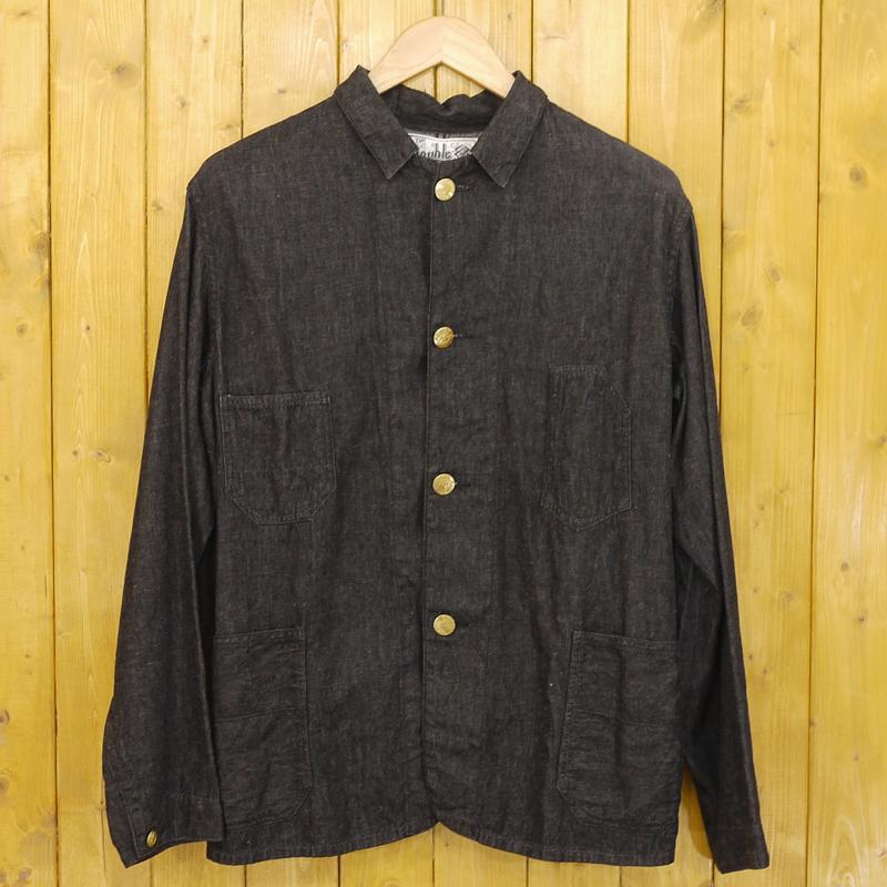 【中古】The REAL McCOY'S/ザ・リアルマッコイズ カバーオール ジャケット サイズ:不明 カラー:ブラック【f093】