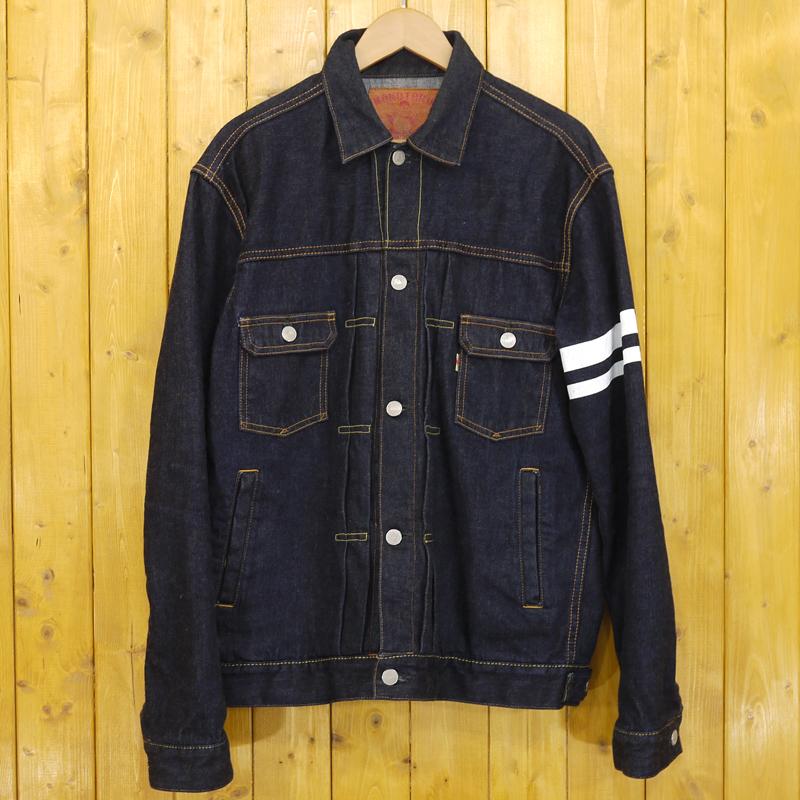 【中古】桃太郎ジーンズ デニムジャケット サイズ:40 カラー:インディゴブルー【f093】