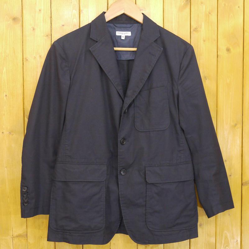 【中古】ENGINEERED GARMENTS/エンジニアド ガーメンツ Baker Jacket ジャケット サイズ:XS カラー:ネイビー【f091】