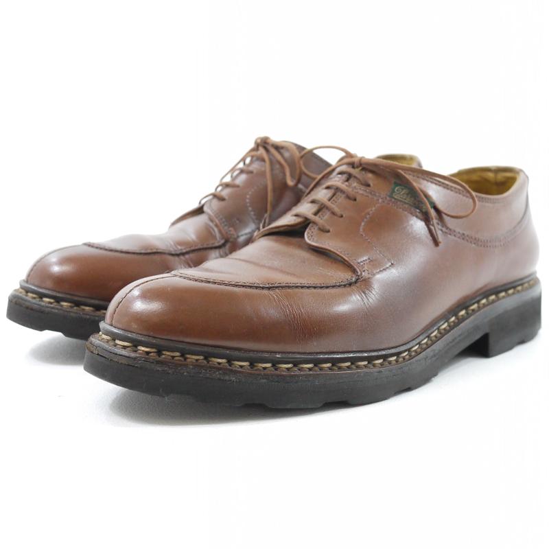 【中古】Paraboot/パラブーツ レザーシューズ 革靴 サイズ:9 カラー:ブラウン【f127】