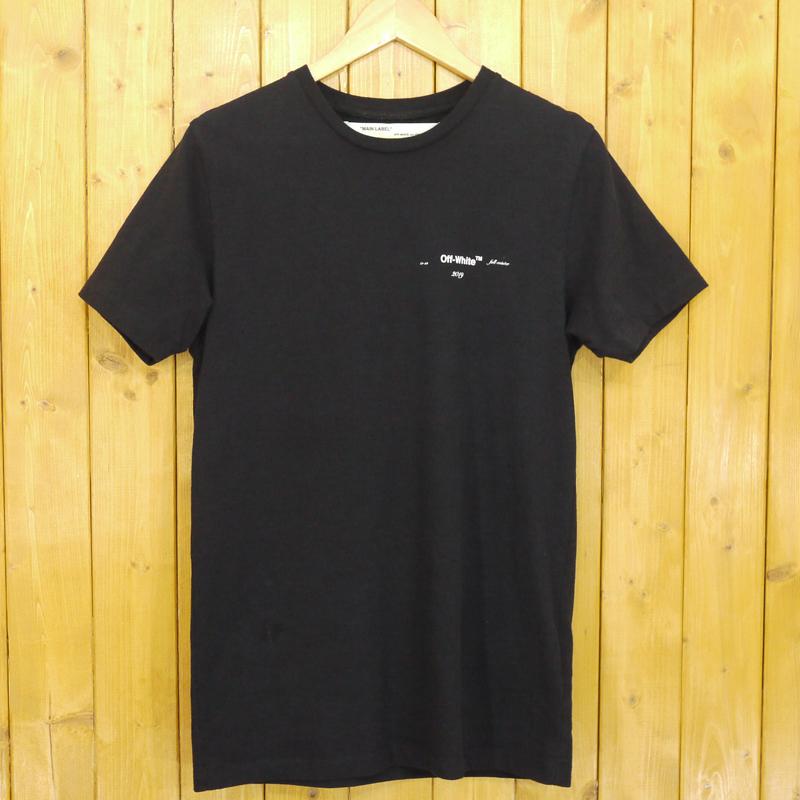 【中古】Off-White/オフホワイト 3D carryover slim T-shirt 半袖Tシャツ サイズ:XS カラー:ブラック【f108】