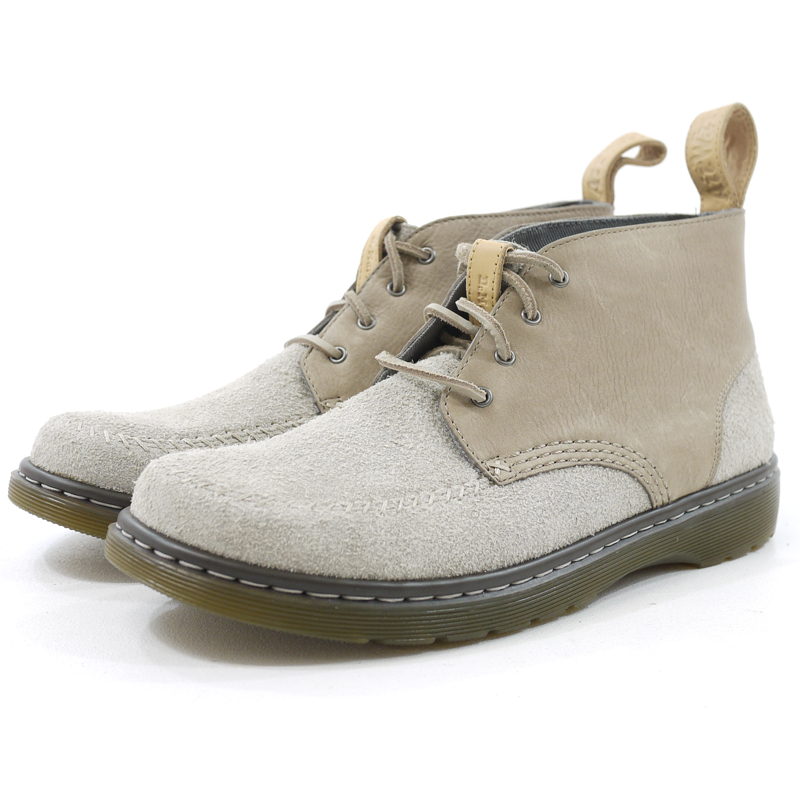 【中古】Dr.Martens/ドクターマーチン HOLT スウェード ブーツ 23971260 サイズ:UK10/EU45 カラー:ベージュ系【f127】