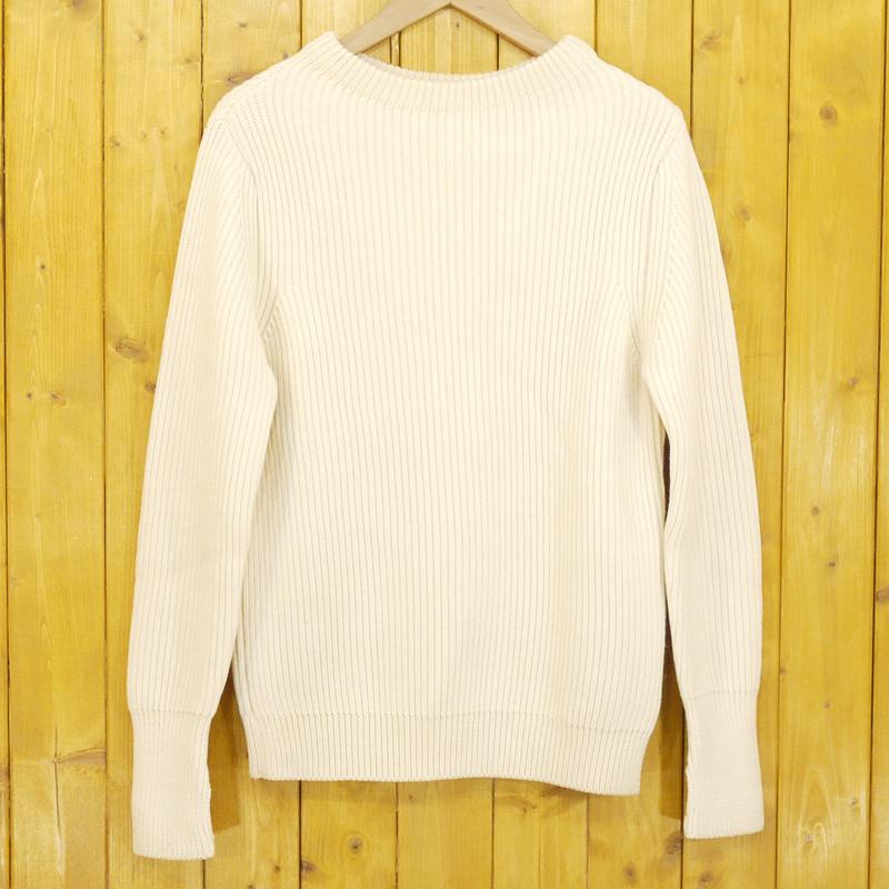 【中古】ANDERSEN-ANDERSEN/アンデルセンアンデルセン SAILOR SWEATER CREW NECK ニット セーター サイズ:XS カラー:ホワイト【f102】