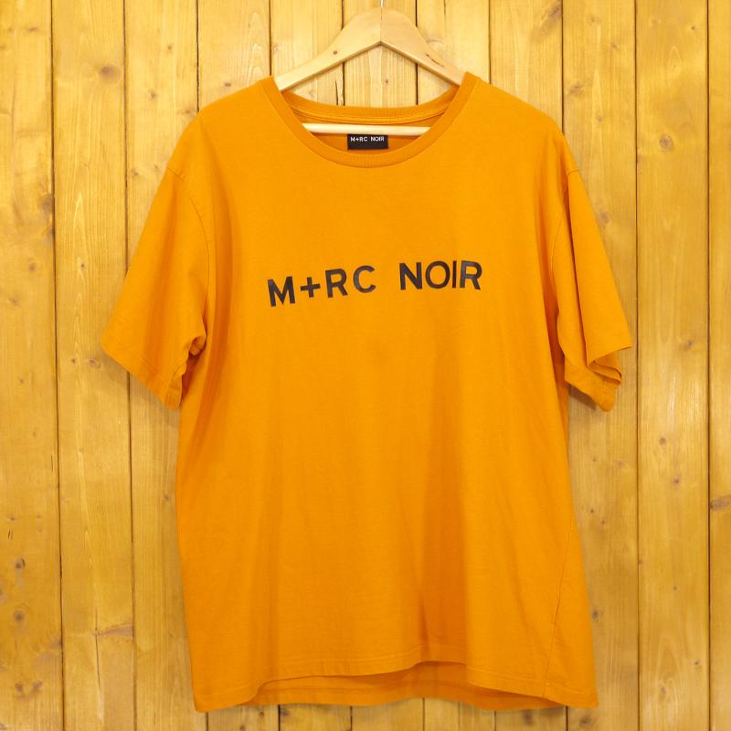 【期間限定】ポイント20倍【中古】M+RC NOIR/マルシェノア ORANGE AMBRE FRONT LOGO TEE 半袖Tシャツ サイズ:XL カラー:オレンジ / ストリート【f103】