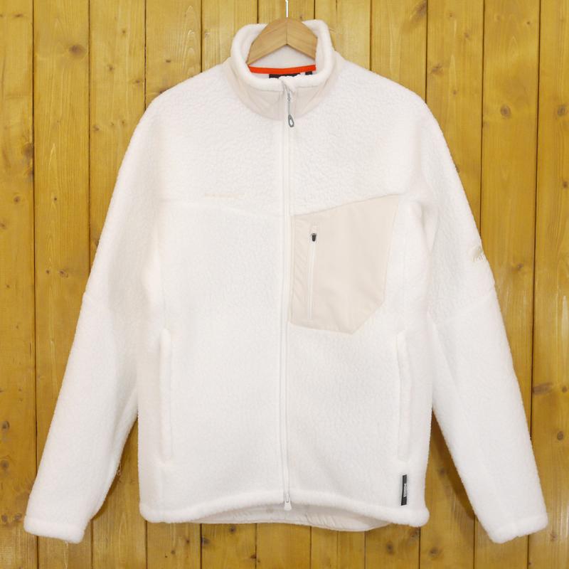 【期間限定】ポイント20倍【中古】MAMMUT/マムート Innominata Pro ML Jacket フリース ジャケット サイズ:XL カラー:ホワイト【f092】