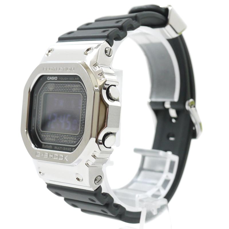 【中古】CASIO/カシオ 腕時計 G-SHOCK Gショック GMW-B5000 カラー:シルバー・ブラック【f131】